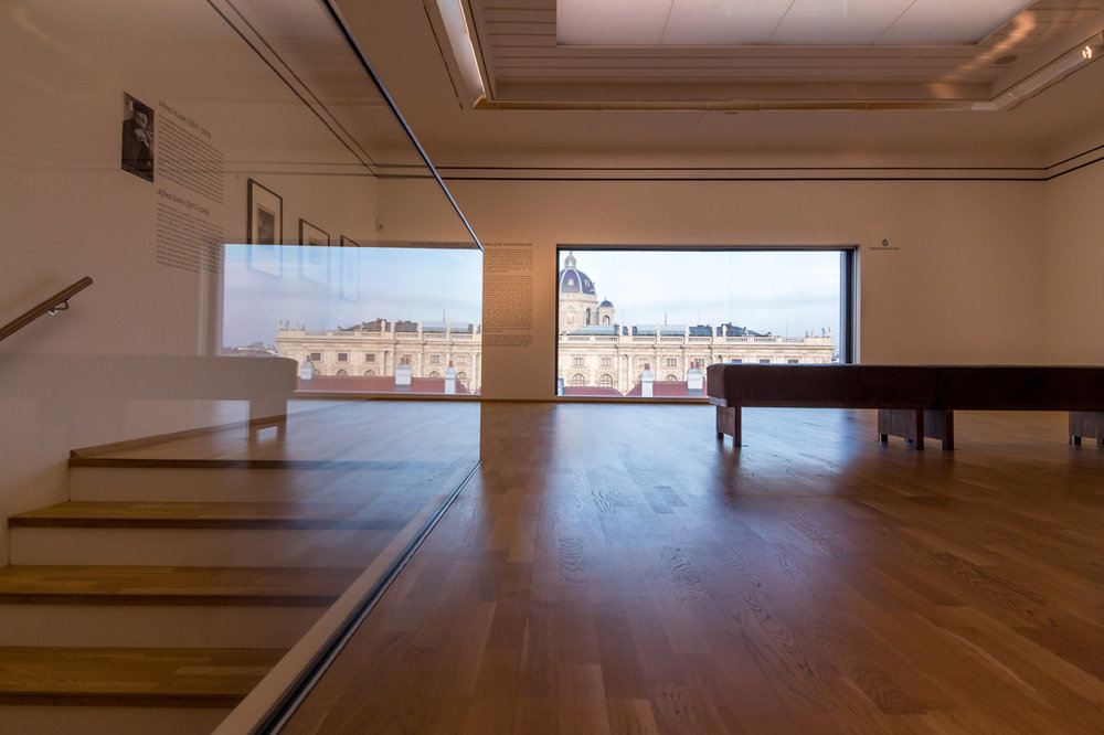 Views from Leopold Museum: Museum of Art History