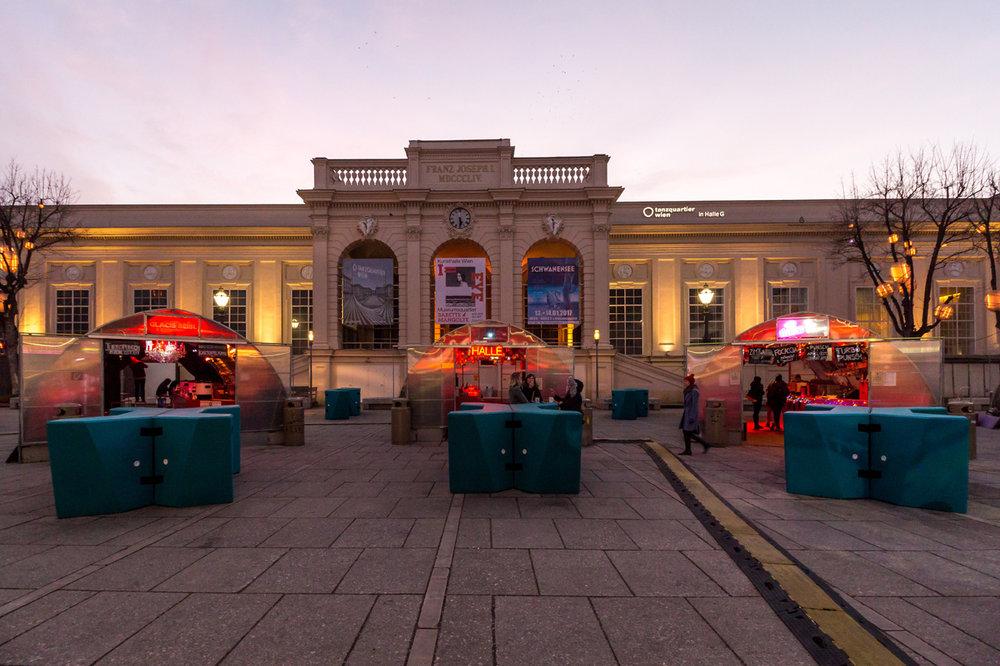 MuseumsQuartier courtyard