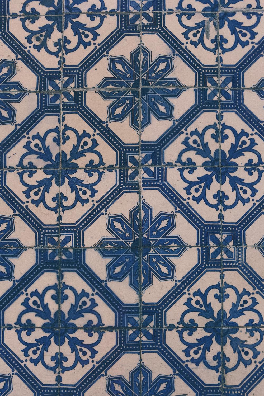 Tiles on the street, Lisbon