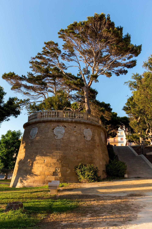 Marsala, Park Villa Cavalotti