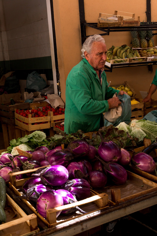 Market in Marsala, Sicily