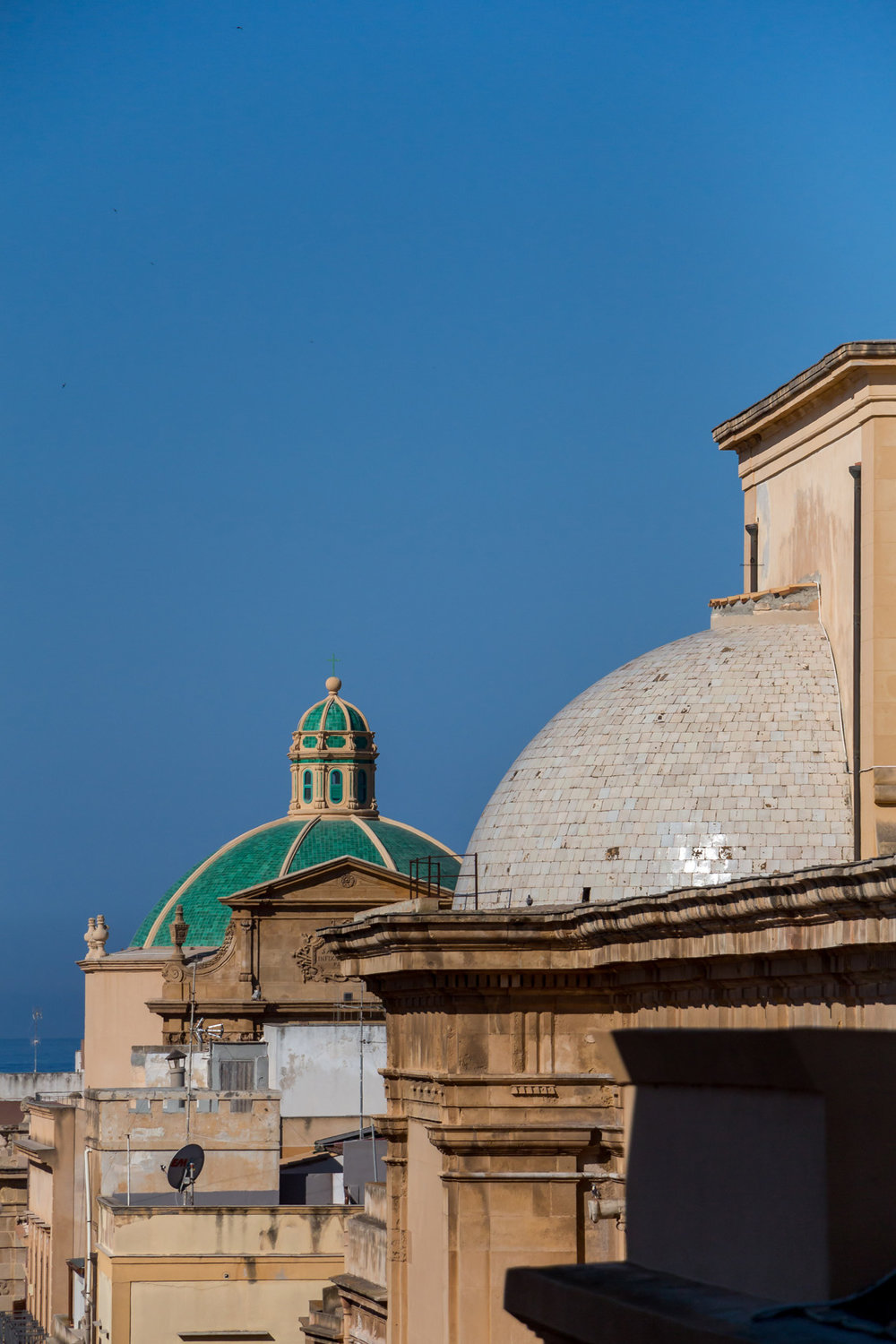 Roofs of Marsala, Sicily