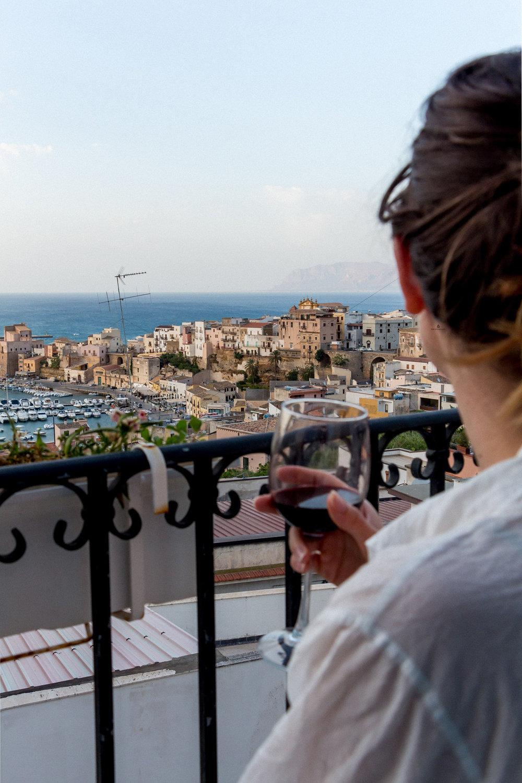 Summer in Castellammare del Golfo, Sicily