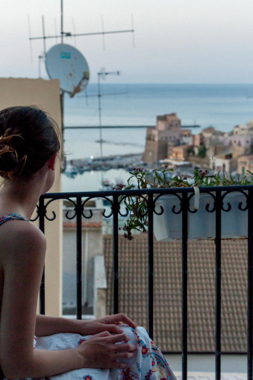 Views of Castellammare del Golfo