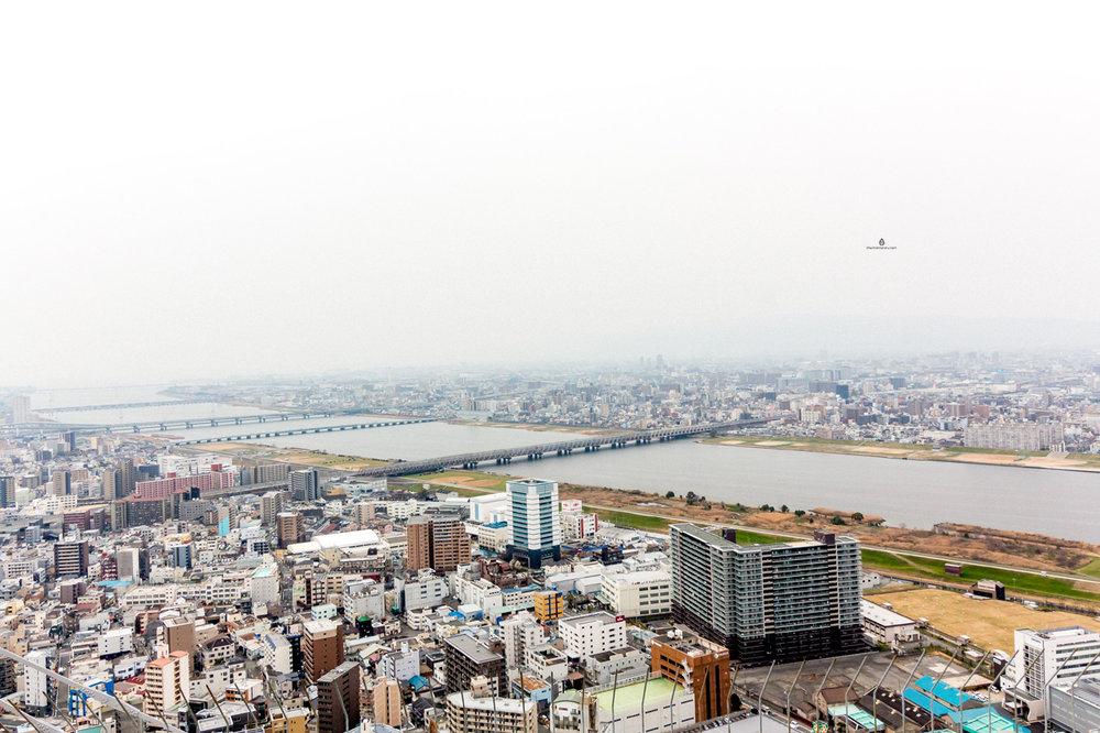 Osaka-sky-building-view