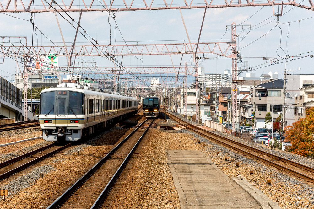 Osaka-trains