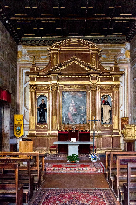 Church in Castiglione del Lago, Umbria