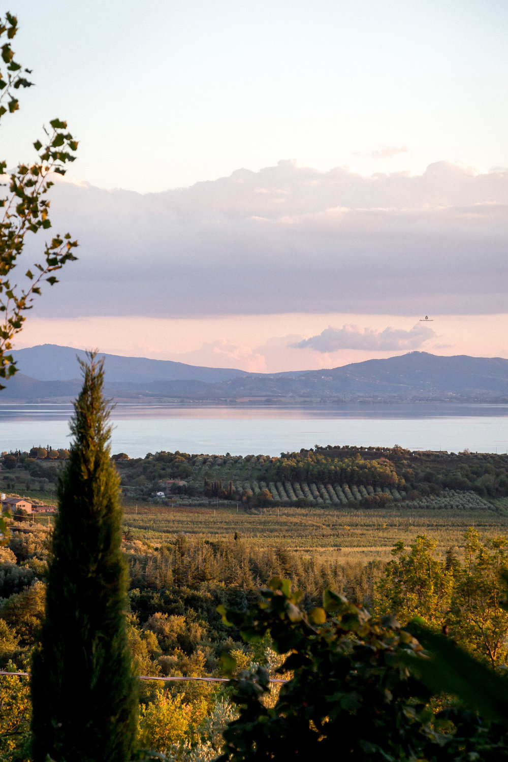 Views of Trasimeno lake, Umbria