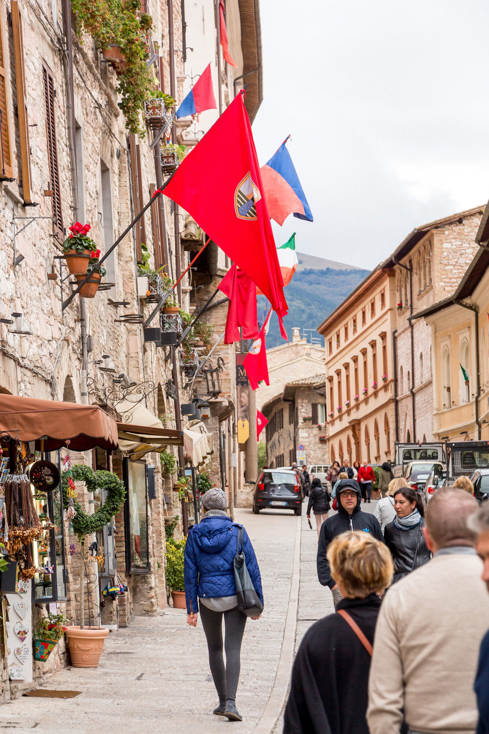 A day in Assisi, Umbria