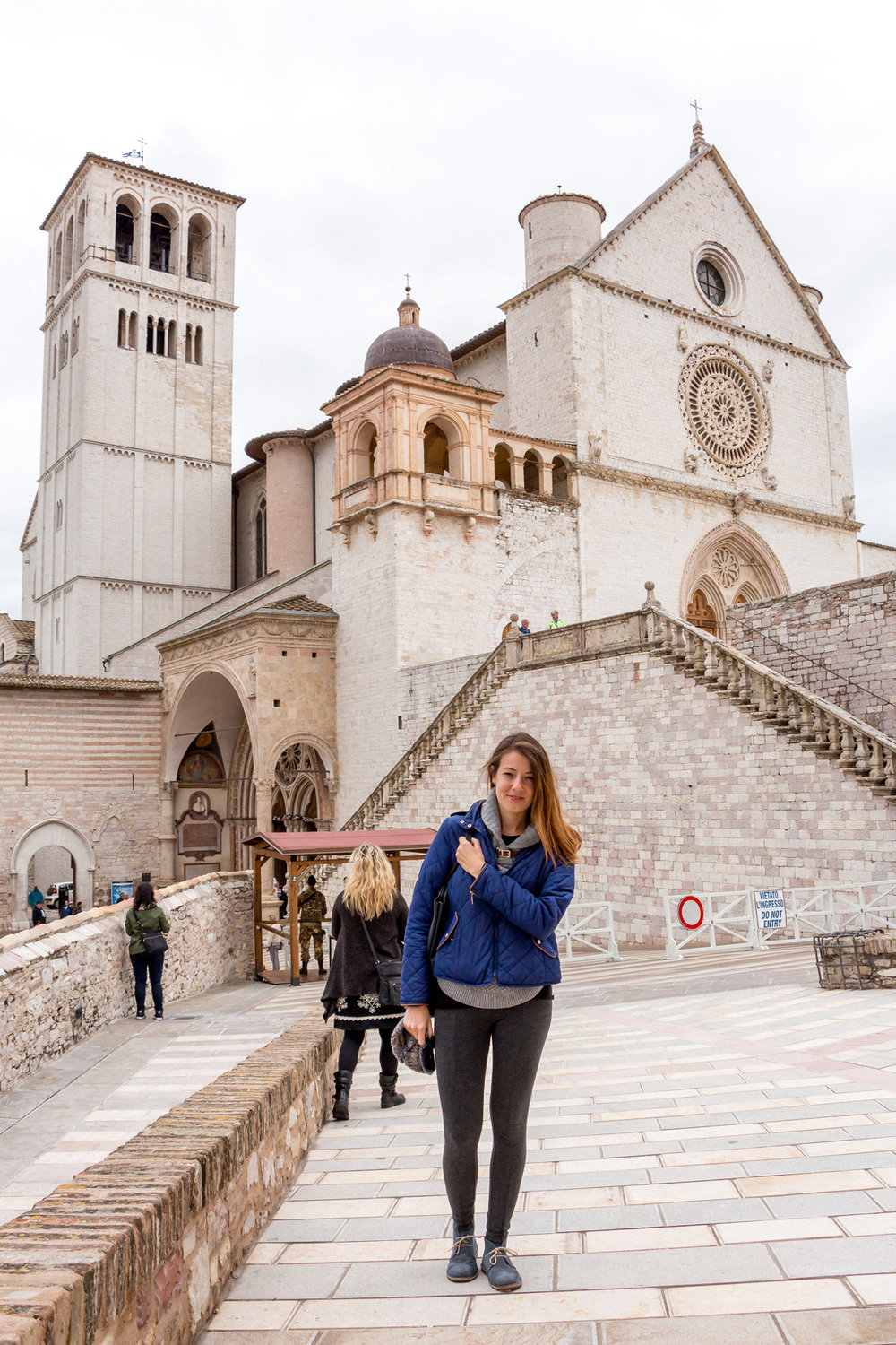 Visiting Assisi, Umbria