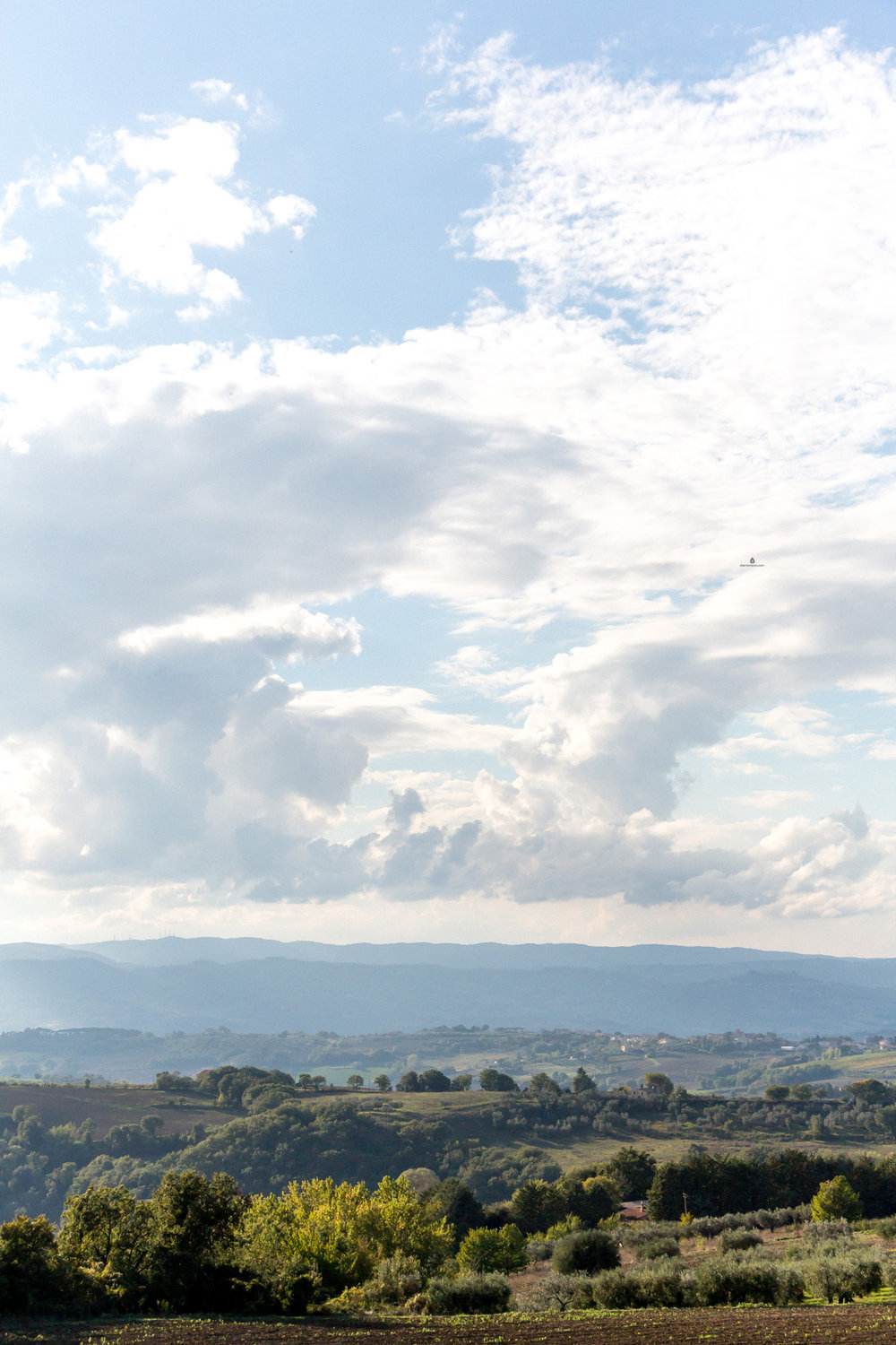 Landscapes around Todi, Umbria