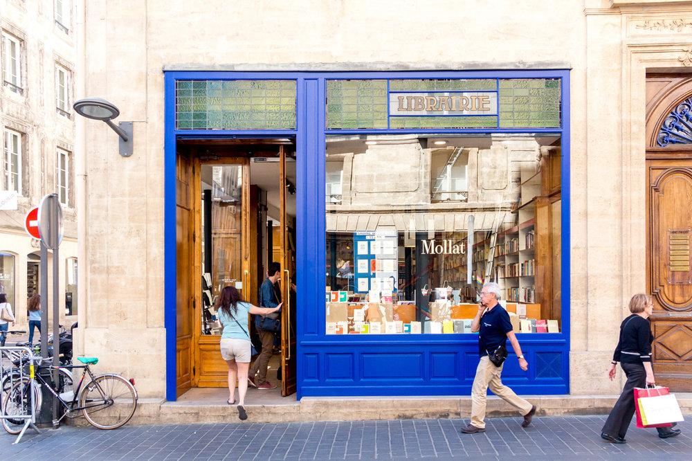 Bookshop in Bordeaux