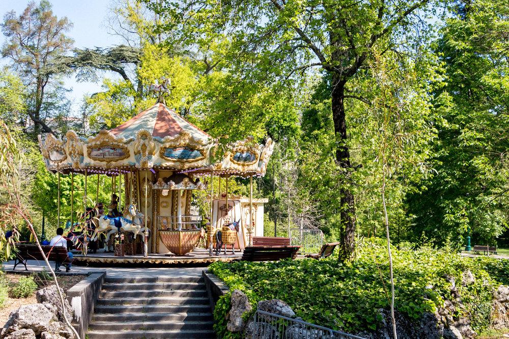Carrousel at Jardin Public