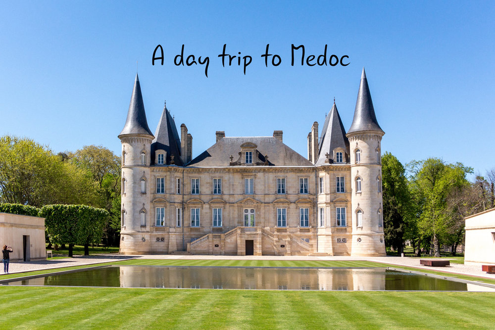 A day trip to Medoc region in France