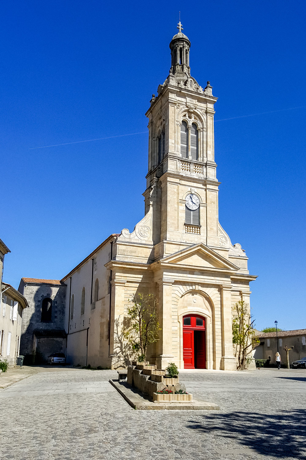 Saint-Ettiene church in Saint-Estephe, Medoc