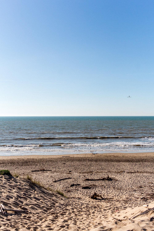 Beach in Soulac-sur-Mer