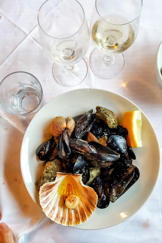 Dinner at Konoba Batelina, Istria