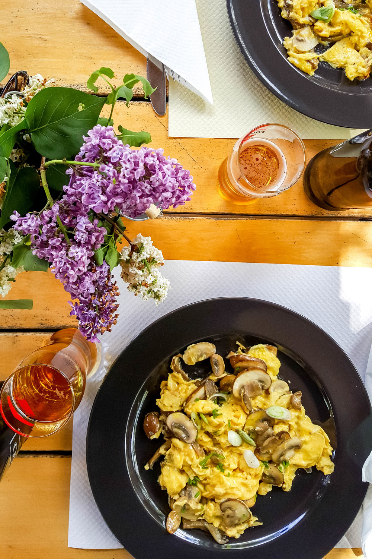 Lunch at Konoba Kotlic, Istria