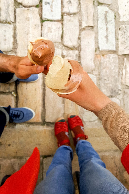 Ice cream at Gelateria Italia, Rovinj