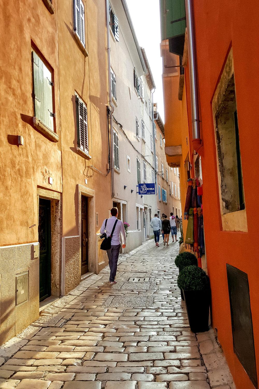 Streets of Rovinj, Istria