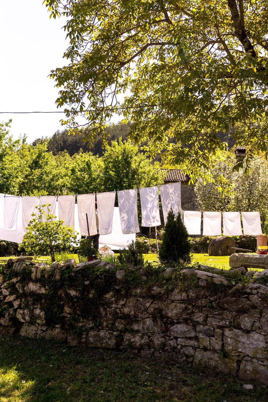 The village of Kotli, Istria