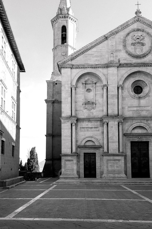 Piazza Pio II, Pienza, Tuscany