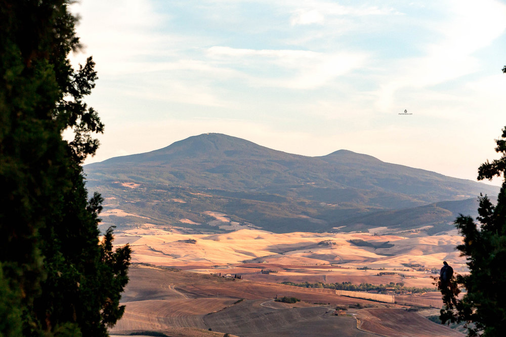 Val d'Orcia landscapes