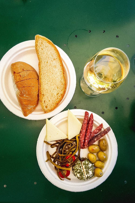 Tuscan lunch in La Bottega di Cacio, Bagno Vignoni