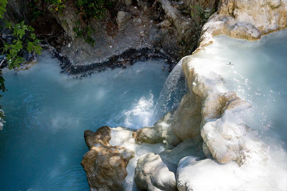Cascades of Bagni San Filippo