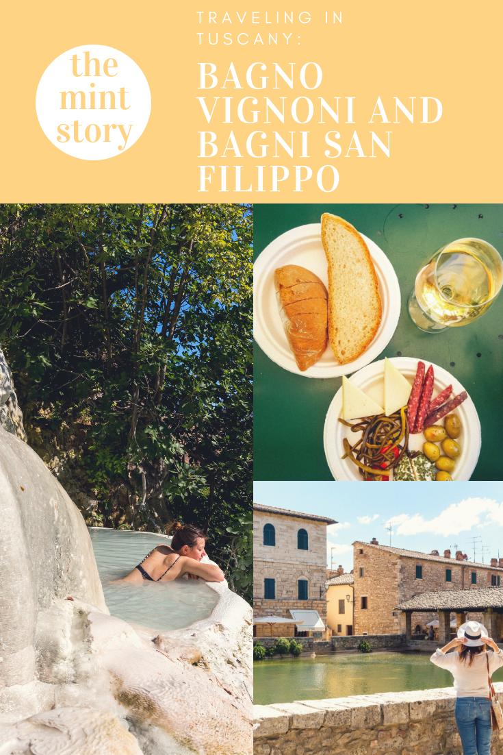 Traveling in Tuscany: Bagno Vignoni and Bagni San Filippo