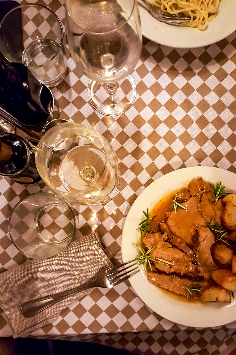 Dinner at Ristorante Matricianella, Roma