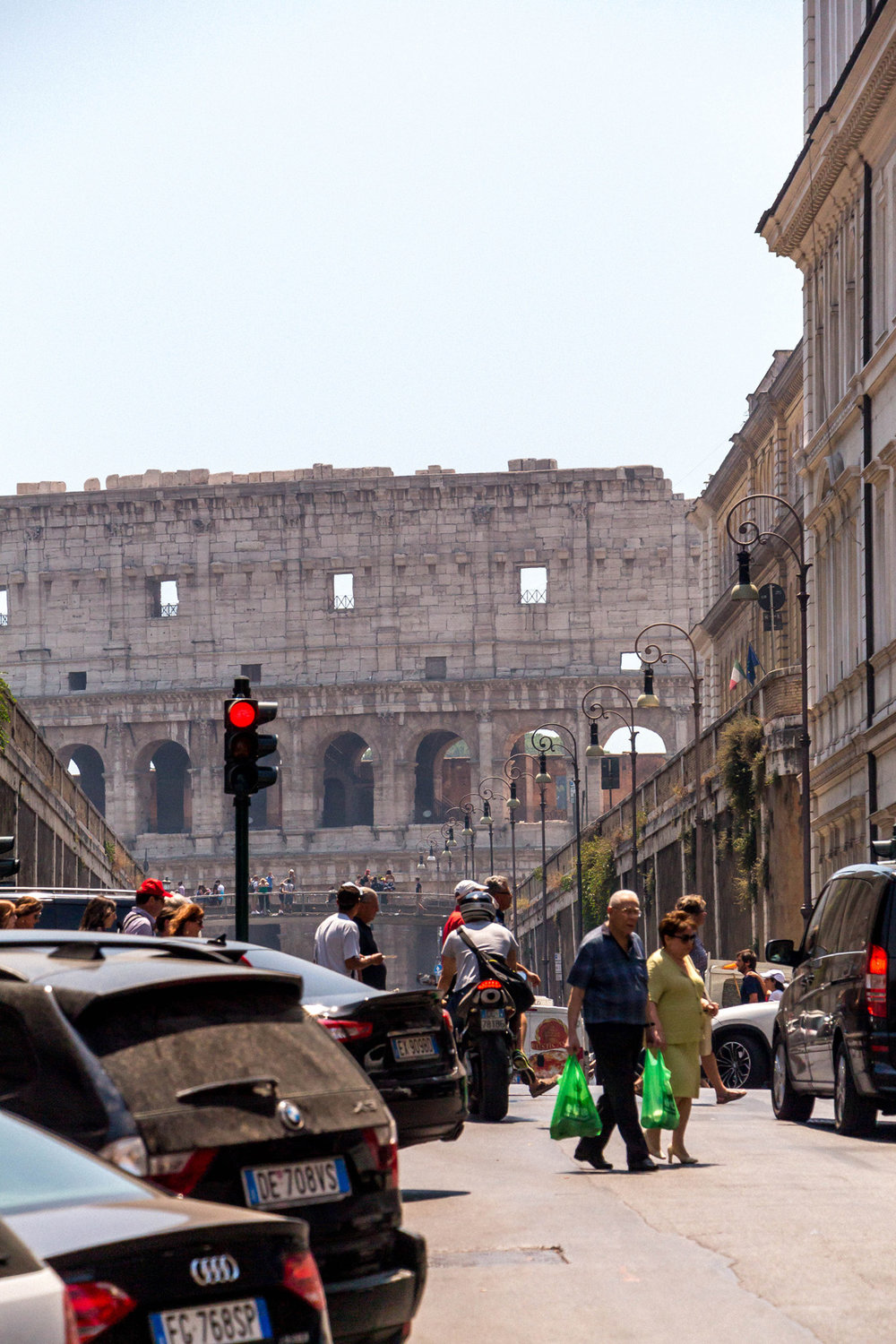 View of the Colosseum, Rome