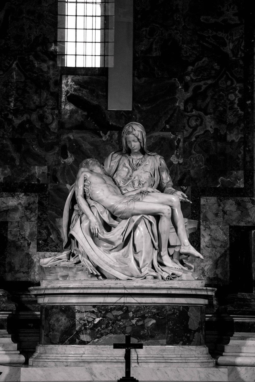Michelangelo's Pieta, Rome