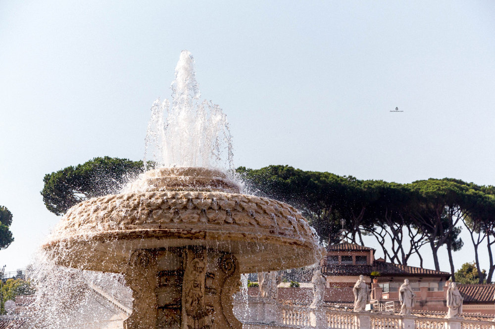 Fountain, St Peter's square