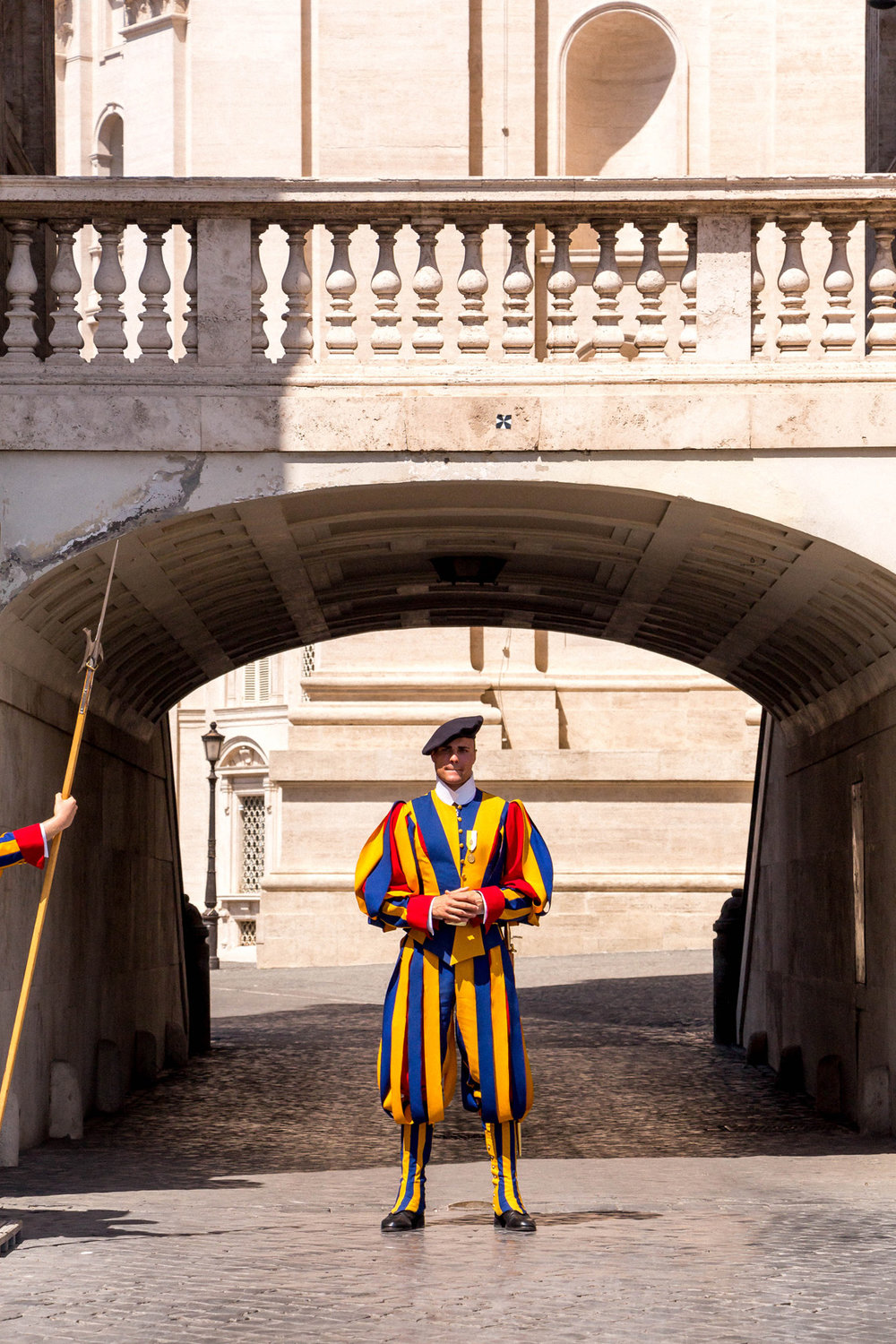 Pontifical Swiss Guard, Vatican