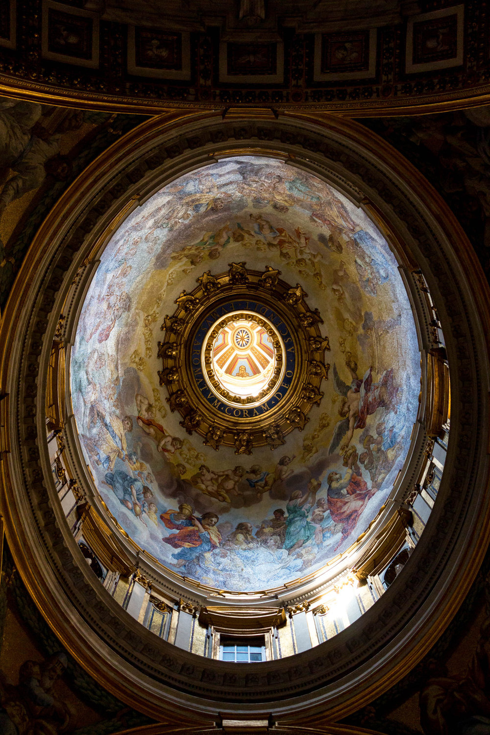 Small dome in St. Peter's Basilica, Vatican