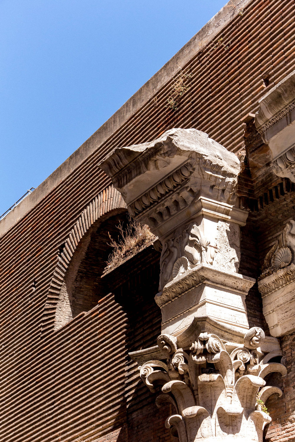 Back side of the Pantheon, Rome
