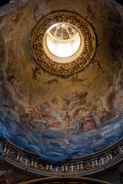 Dome of Santa Maria Maddalena, Rome