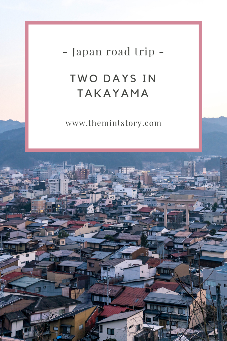 Two days in Takayama