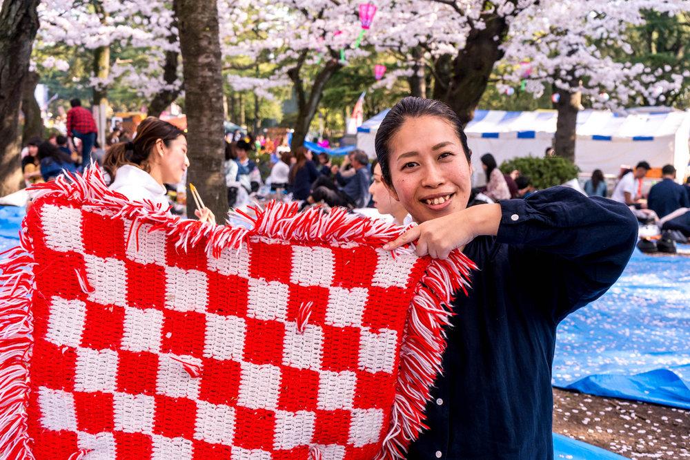 Tomoko in Tsurumai park