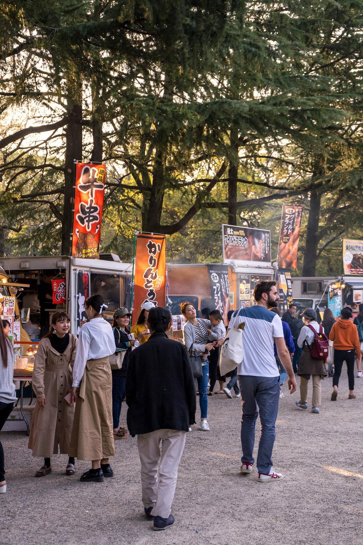 Hanami festival, Nagoya