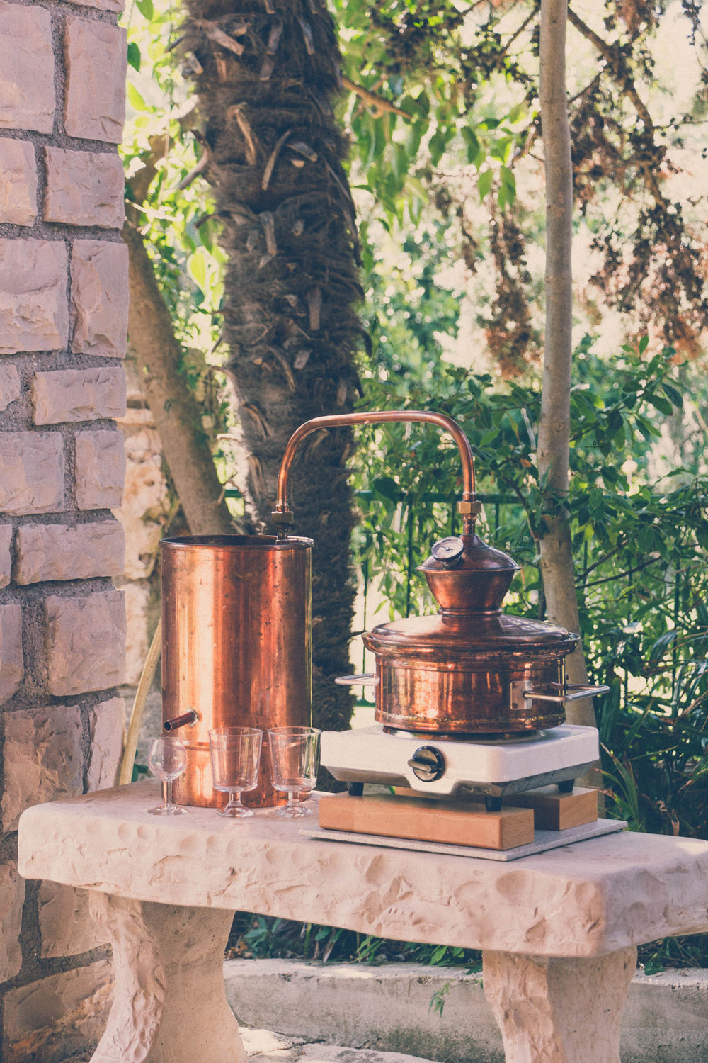 Our small pot still