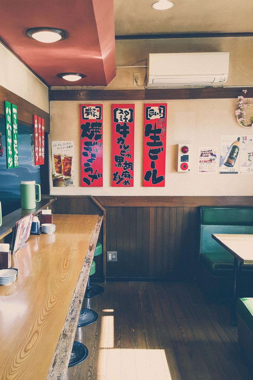 Ramen diner in Iga, Japan