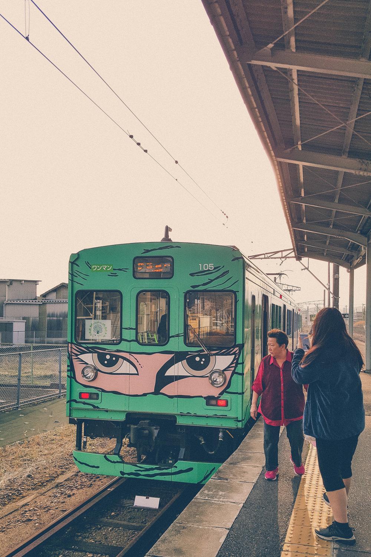 Ninja train, Iga