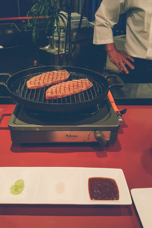 Iga beef at Yonhan restaurant