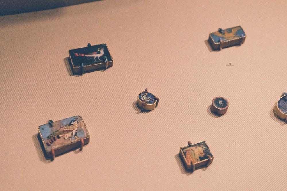 Delicate little objects in Miho Museum