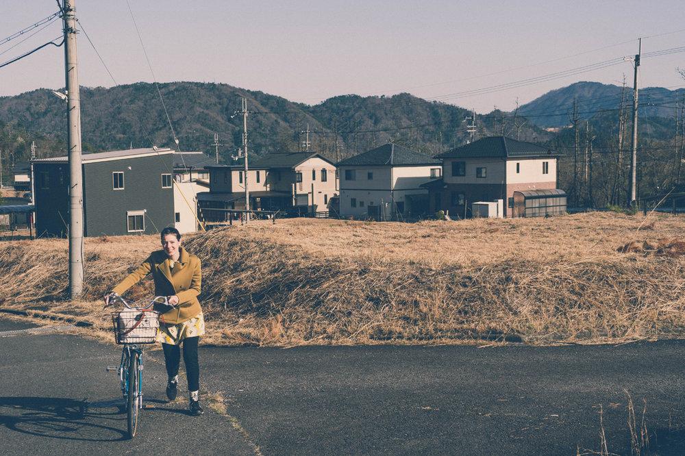 Cycling around Shigaraki