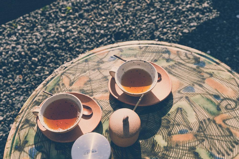 Tea at Ogama, Shigaraki