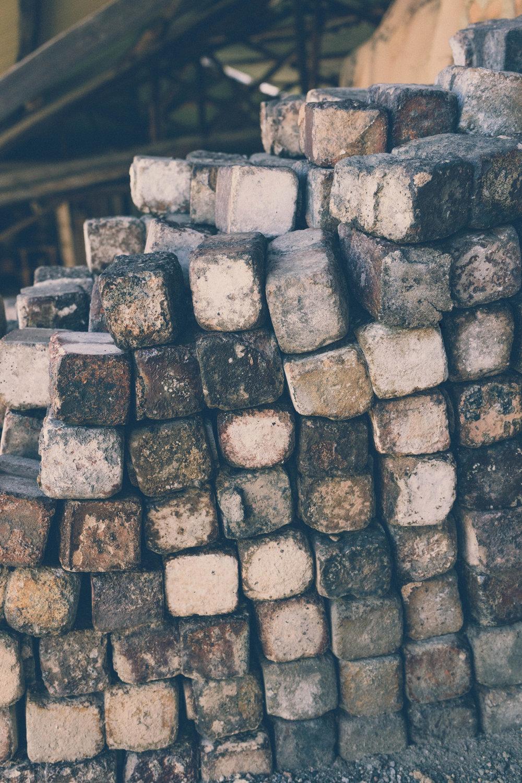 Detail of the Ogama Noborigama kiln in Shigaraki