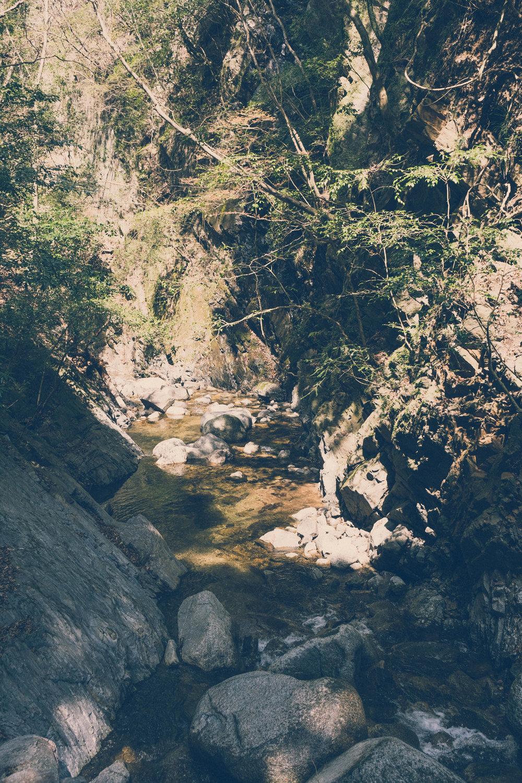 A stream near Iga, Mie prefecture
